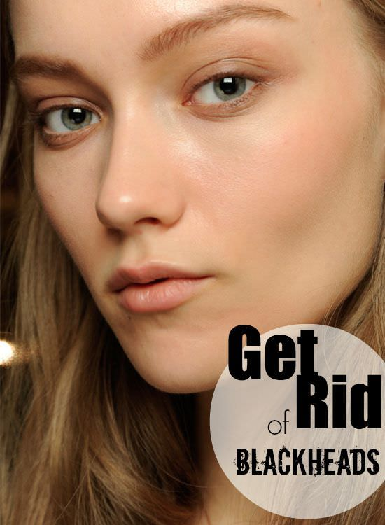 how to get rid of blackheads with glue