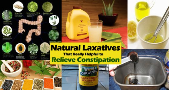 Natural Laxatives to Relieve Constipation