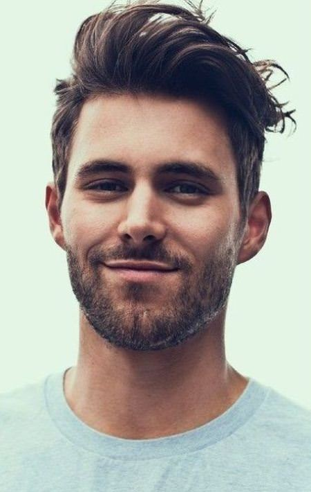 Combining short long haircut easy hairstyles for men