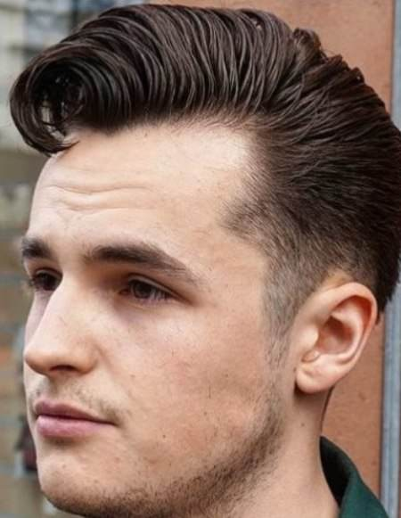 Cowlick haircut easy hairstyles for men