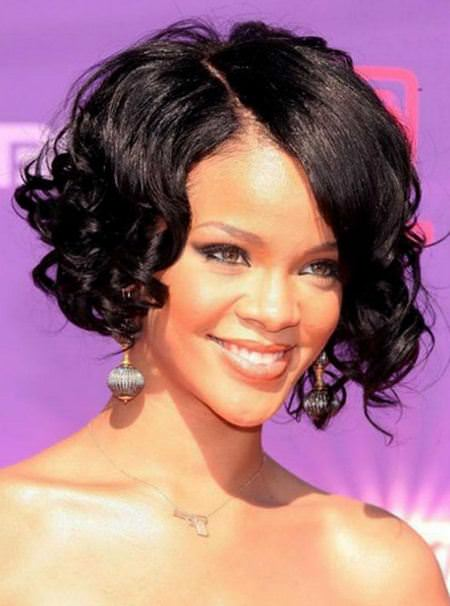 Curly bob black women hairstyles