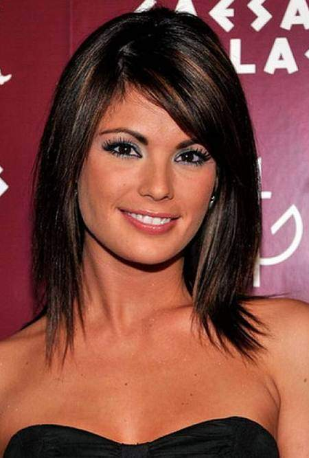 Dangeously sleek hairstyles for shoulder length