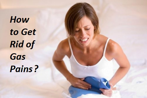 Get rid of gas pains