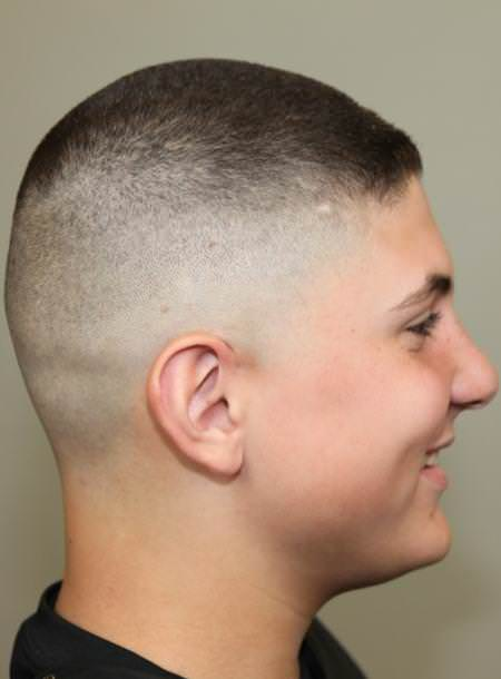 Low fade side sporty haircuts for men