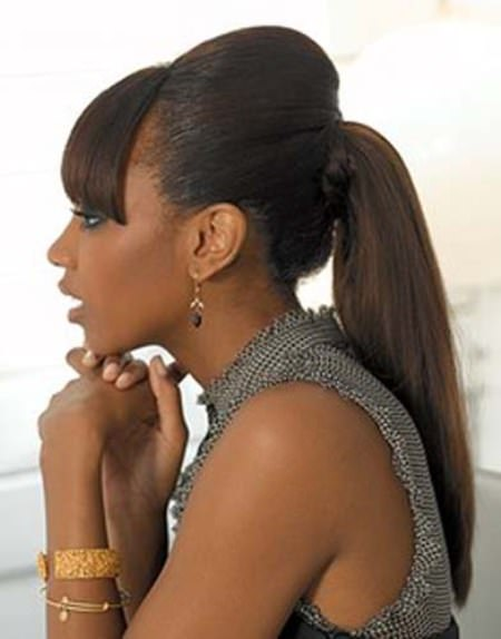 Post ponytail hairstyles for black women