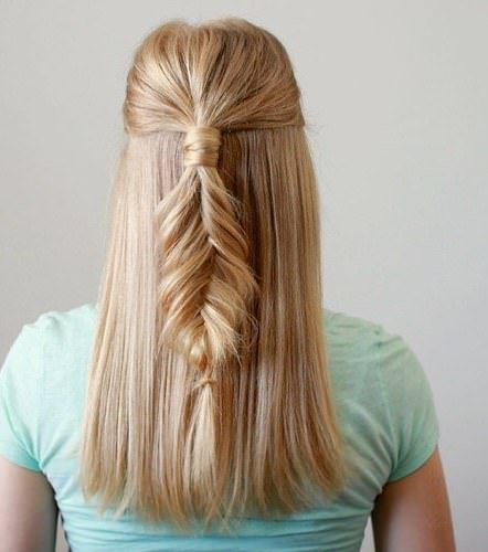 Ready to be preppy creative fishtail braid hairstyles