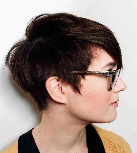 Round face fix short hairstyles for round faces