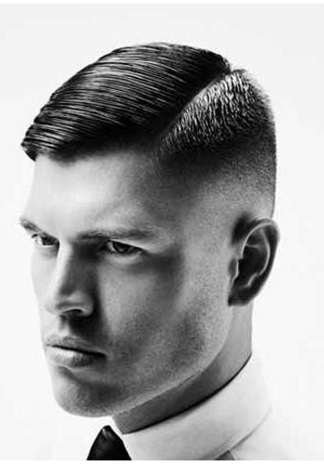 Short hair with side parts sporty haircuts for men