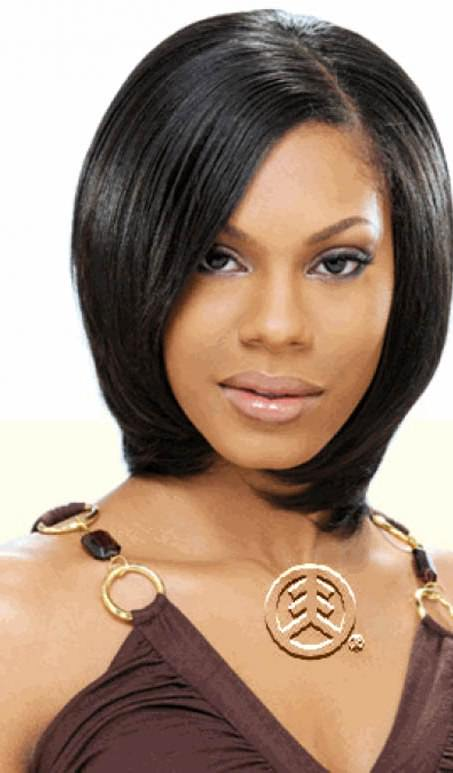 Silk and shine hairstyles for black women