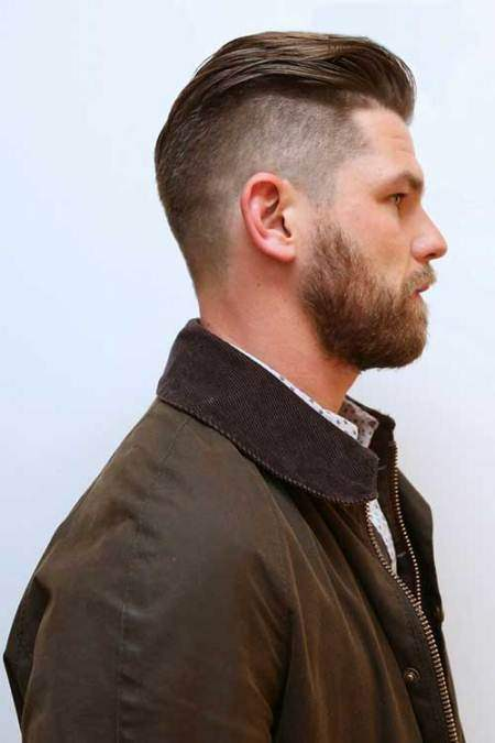 Slicked back hairstyle easy hairstyles for men