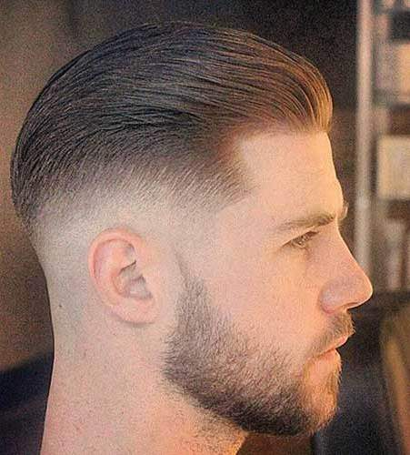 Swept back style sporty haircuts for men
