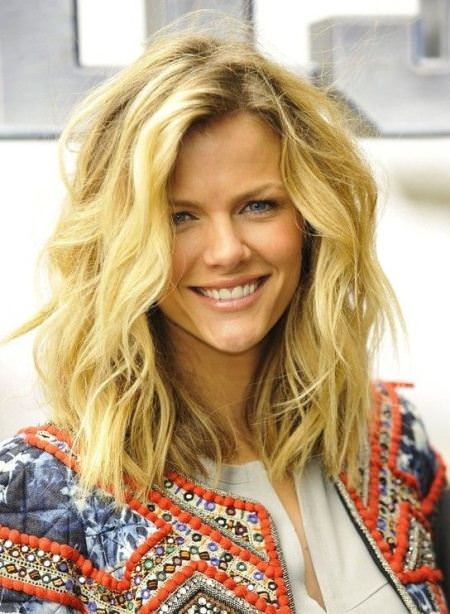 Waves for day hairstyles for shoulder length