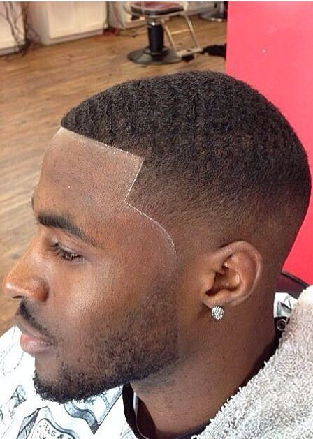 Wavy low fade haircuts for black men