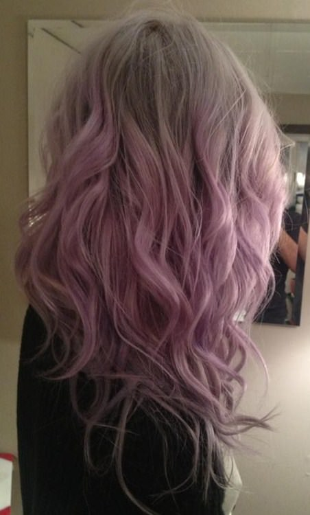 ash blonde hair with purple ombre lavender ombre hair and purple ombre