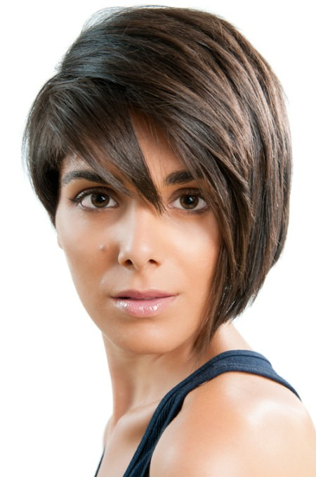 asymmetrical pixie short haircuts for thick hair