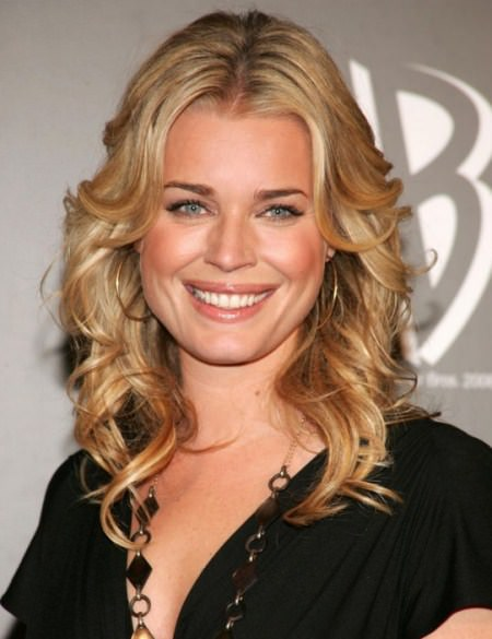 blonde curls with a center part curly hairstyles for girls