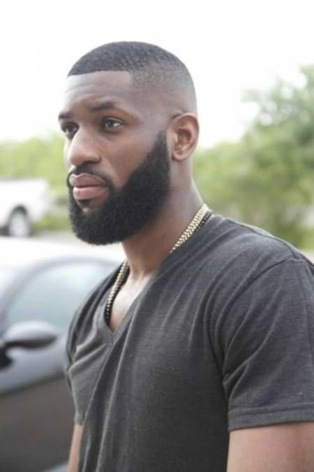 close shave with a beard black men hairstyles