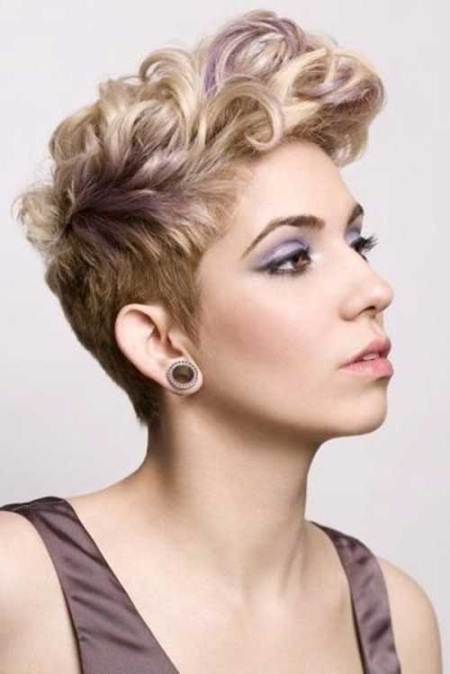 curly top pixie short haircuts for thick hair