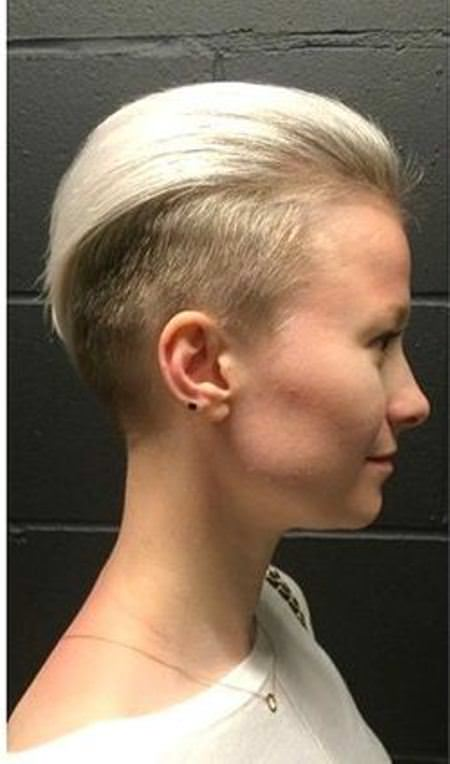 edgy color combo short haircuts for added oomph