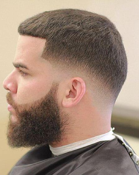 extra short line up sporty haircuts for men