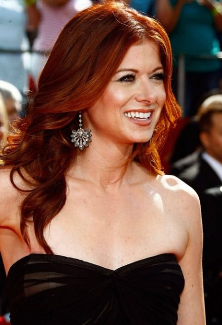 fiery redhead hairstyles for women over 40