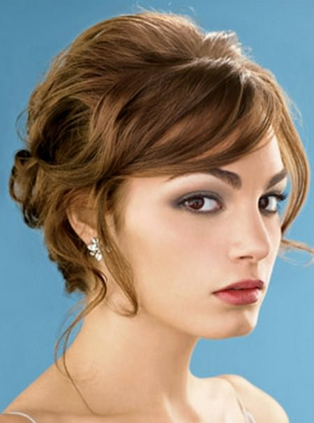formal hairdo short hairstyles for round faces