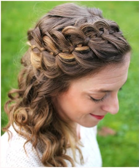 four strand braided hairstyles for women