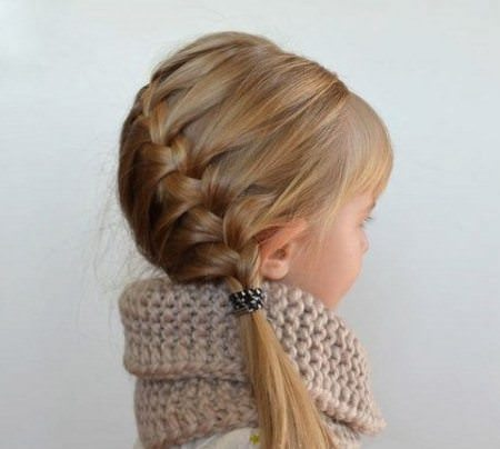 french braids for kids