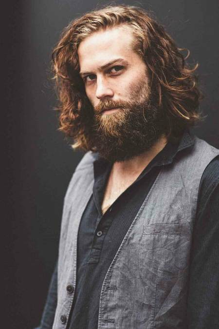 grown out layers long hairstyles for men