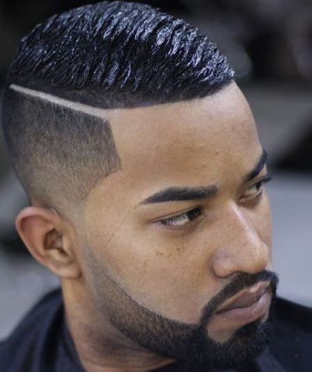 haircut with shaved side part haircuts for black men