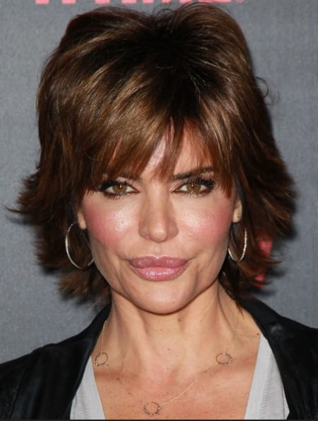 layered razor hairstyles for women over 40