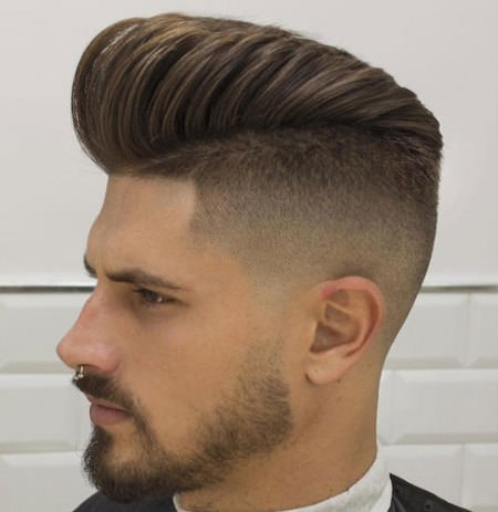long and high pomp long hairstyles for men