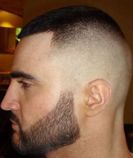 military high fade sporty haircuts for men