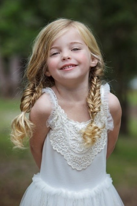 pigtail braids for kids