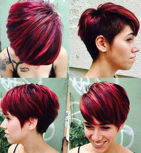 red and raven short haircuts for added oomph