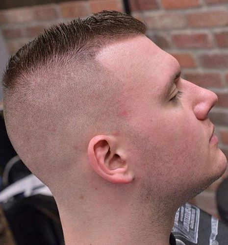 short spiky high and tight sporty haircuts for men