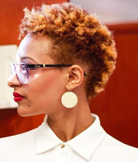 short sunset curl easy hairstyles for natural hair