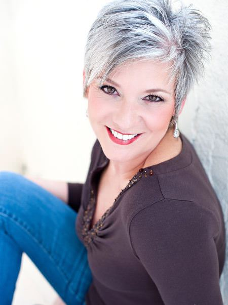 silver fox short haircuts for added oomph