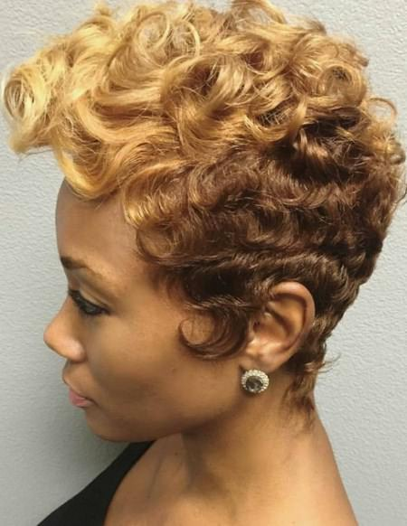 spiral ombre hairstyles for black women