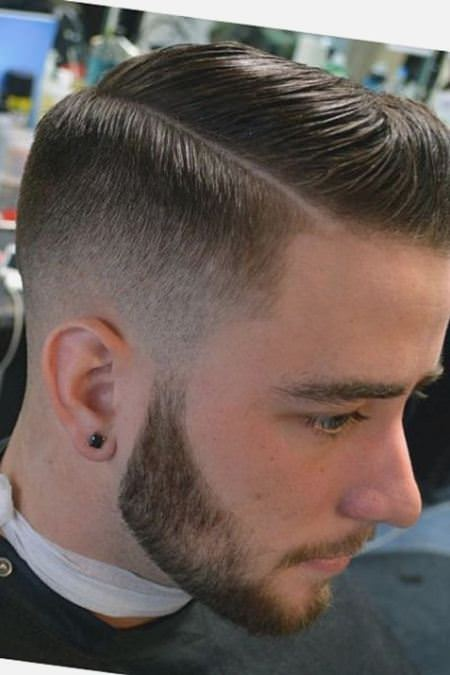 taper cut easy hairstyles for men