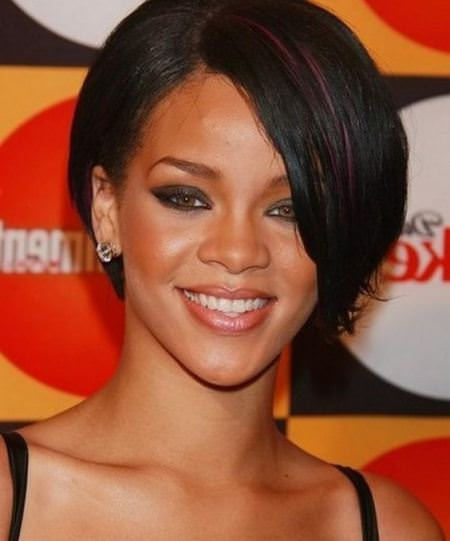 tapered black short hairstyles