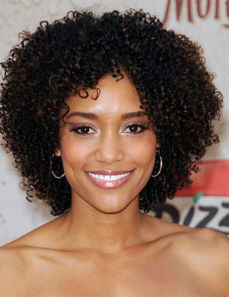the tiny and tight curls easy hairstyles for natural hair