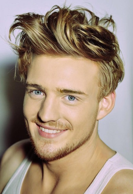 tousled volume long hairstyles for men