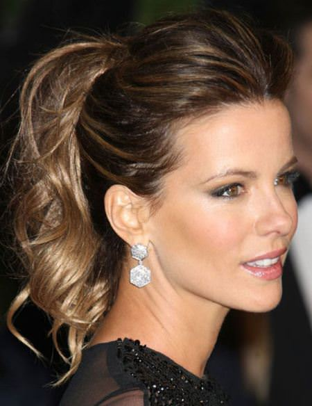 ultra simple ponytail hairstyles for women