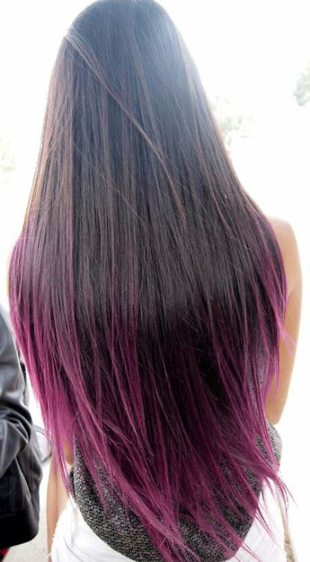 very long hair with lavender tips lavender ombre hair and purple ombre