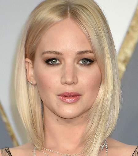 white blonde lob bob haircuts for fine hair