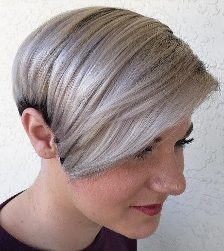Frosty pixie colorful pixie cuts