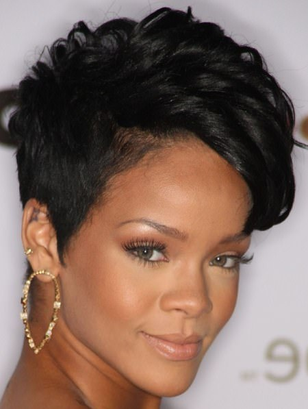 Short and shaved natural hairstyles for short hair