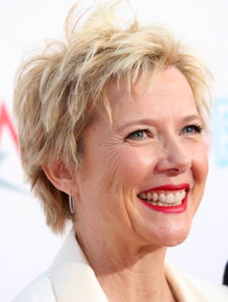 Short and sweet crop hairstyles for older women