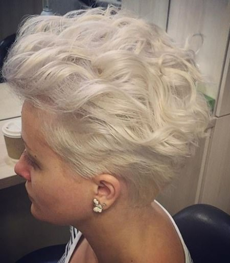 Short bombshell curls haircuts for short spiky haircuts for women